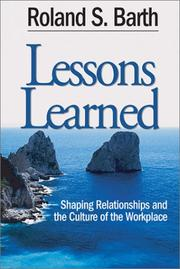 Cover of: Lessons Learned