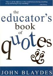 Cover of: The educator