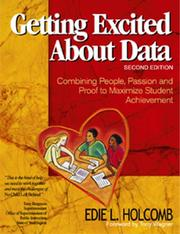 Getting excited about data by Edie L. Holcomb