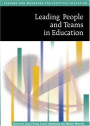 Cover of: Leading People and Teams in Education (Published in association with The Open University) |