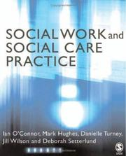 Cover of: Social Work and Social Care Practice | Ian O