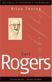 Cover of: Carl Rogers
