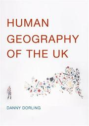 Cover of: Human geography of the UK | Daniel Dorling
