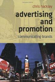 Cover of: Advertising and Promotion | Chris Hackley