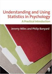 Cover of: Understanding and Using Statistics in Psychology | Jeremy Miles