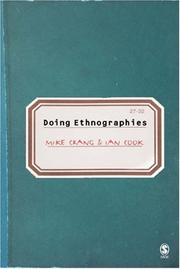 Cover of: Doing ethnographies |