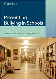Cover of: Preventing Bullying in Schools