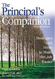 Cover of: The principal