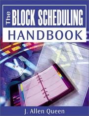 Cover of: Block Scheduling Handbook