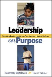 Cover of: Leadership on Purpose | Rosemary Papa