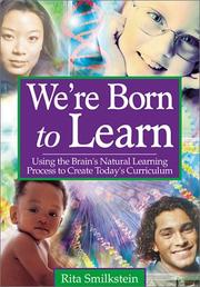Cover of: We're Born to Learn