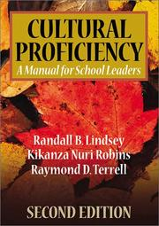 Cover of: Cultural proficiency | Randall B. Lindsey