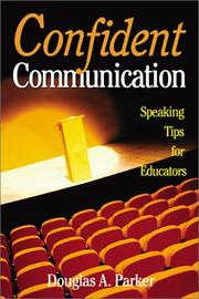 Cover of: Confident Communication