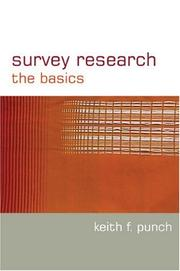 Cover of: Survey Research | Keith F Punch