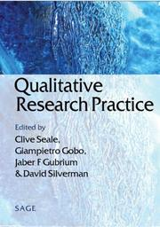 Cover of: Qualitative research practice
