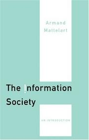 Cover of: The information society