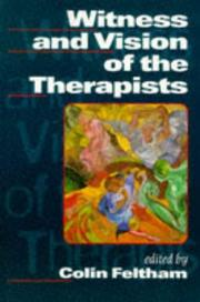 Cover of: Witness and Vision of the Therapists