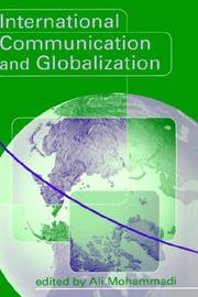 Cover of: International Communication and Globalization