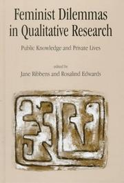 Feminist Dilemmas in Qualitative Research by