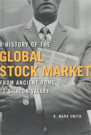 Cover of: A History of the Global Stock Market