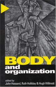 Cover of: Body and Organization |