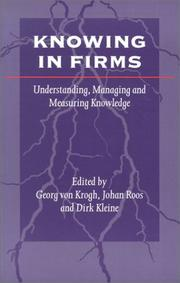 Knowing in Firms by