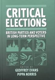Critical Elections by