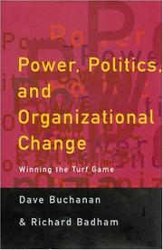 Cover of: Power, politics, and organizational change