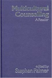 Cover of: Multicultural Counselling