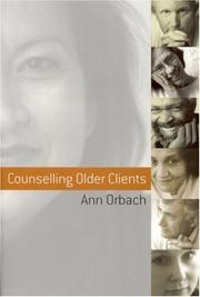 Cover of: Counselling older clients
