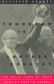 Tomorrow is another country by Allister Haddon Sparks