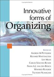 Cover of: Innovative forms of organizing |