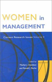 Cover of: Women in Management |