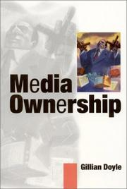 Cover of: Media ownership | Gillian Doyle