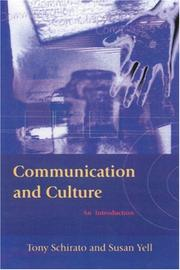 Cover of: Communication and culture