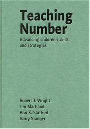 Cover of: Teaching Number: Advancing Children's Skills and Strategies