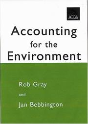 Accounting for the environment by Rob Gray