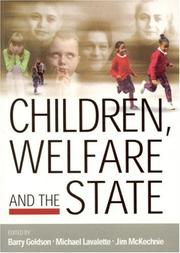 Cover of: Children, welfare and the state |