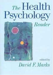 Cover of: The Health Psychology Reader