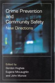 Cover of: Crime prevention and community safety |