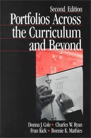 Cover of: Portfolios across the curriculum and beyond