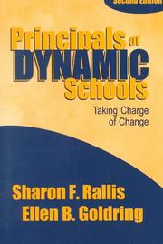 Cover of: Principals of dynamic schools