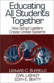 Cover of: Educating All Students Together  | Leonard C. Burrello