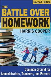Cover of: The battle over homework