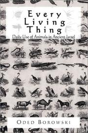 Cover of: Every Living Thing | Oded Borowski