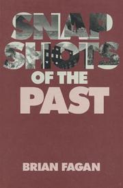Cover of: Snapshots of the past