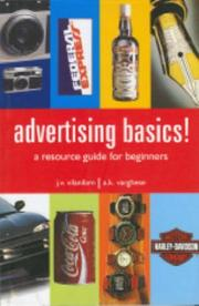 Cover of: Advertising basics!
