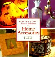 Cover of: Home accessories |