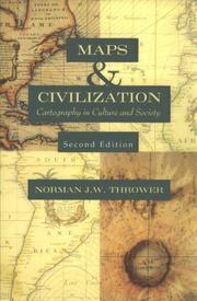 Cover of: Maps & civilization