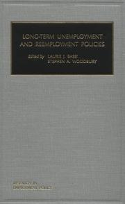 Cover of: Long-term Unemployment and Reemployment Policies (Research in Employment Policy) (Research in Employment Policy, V. 2)